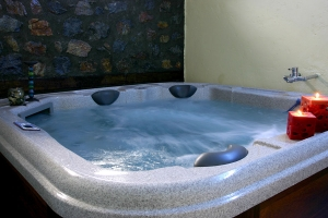 Agios Athanasios spa facilities therapies center jacuzzi